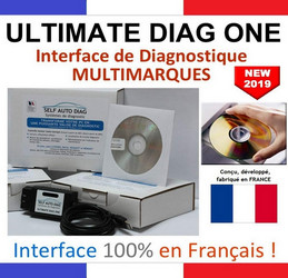 Valise diagnostique auto multimarque Ultimate Diag One